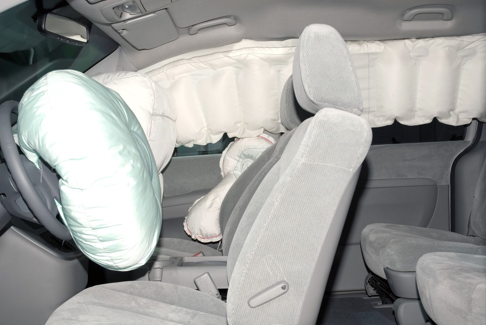 car front and side airbags takata min